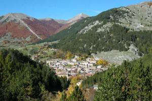 The foothills of Pescasseroli