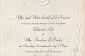 Eleanore & Ted's Wedding Invitation
