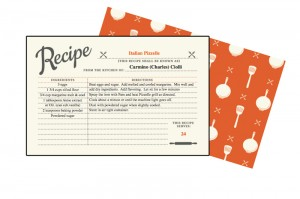 Pizzelle Recipe Card F